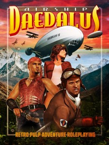 Airship Daedalus Retro Pulp Adventure Roleplaying